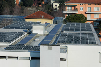 solar panels as an example of fractions